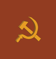 Hammer and sickle icon vector | Price: 1 Credit (USD $1)