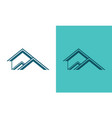 home rologo vector image vector image