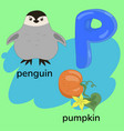 letter p child s alphabet graphics