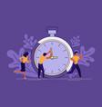 mess and deadline tasks vector image