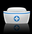 Nurse cap vector image