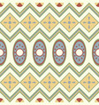 Seamless pattern with geometrical motives