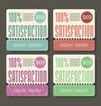 set sale labels paper tags vintage design vector image