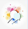speech bubbles colored concept icon vector image