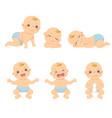 toddler boy vector image