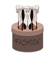 high heels stiletto sexy vector image