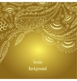 Background Hand Drawn ornament vector image