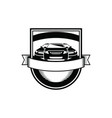 car automotive logo template emblems vector image