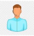customer service operator headset icon vector image