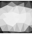 Halftone Pattern Dots on White Background vector image vector image