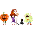 Halloween cartoons vector | Price: 1 Credit (USD $1)