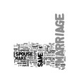 is there hope to save a marriage in trouble text vector image vector image