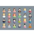 large set of avatars vector image