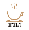 Logo Coffee Cafe vector image vector image