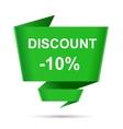 speech bubble discount design element sign symbol vector image vector image