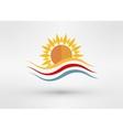 Sun Energy Logo Template vector image vector image