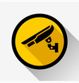 video surveillance icon vector image vector image