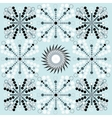 Winter New Year Christmas seamless pattern with vector image vector image