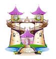 fairytale castle vector image vector image