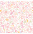 floral seamless pattern flower icon gentle