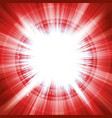 merry christmas starburst background vector image