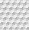 paper hexagonal pyramids seamless pattern vector image vector image