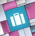 suitcase icon sign Modern flat style for your vector image vector image