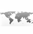 world map in dots earth business concept in flat vector image