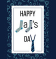 happy dads day vector image