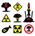 radiation hazard vector image