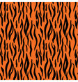 Abstract animal print Seamless pattern with tiger vector image vector image
