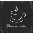 Coffee design for menu vector image vector image