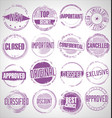 collection grunge sale rubber stamp 03 vector image vector image