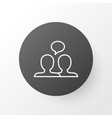 dialogue icon symbol premium quality isolated vector image vector image