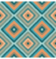 Ethnic geometric ornament pattern background vector image vector image
