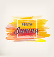 festa junina party vector image vector image