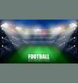 Football match world championship stadium 3d