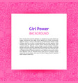 gift power paper template vector image vector image