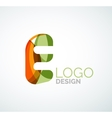 letter logo vector image vector image