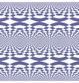 Seamless fancy op art pattern vector image