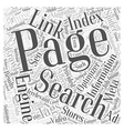 Search Engine Optimization and Advertising Word vector image vector image