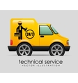 technical service vector image vector image