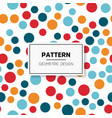 abstract colorful mosaic seamless pattern of vector image