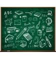 set of school doodle s