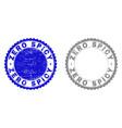 grunge zero spicy textured stamp seals vector image vector image