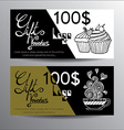 Hand drawn voucher vector image vector image