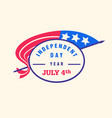 independence day us day design vector image vector image