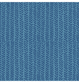 knitting seamless pattern vector image vector image