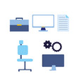 people business work vector image