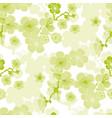 sakura spring blooming seamless pattern vector image vector image